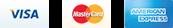 payment method: Visa, Mastercard, American Express